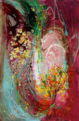 The Splash Of Life 23. The Tree Of Golden Rain Poster