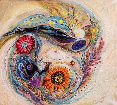 The Splash Of Life 7 Poster by Elena Kotliarker