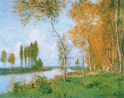 The Spring In Argentuil, 1872 Poster by Claude Monet