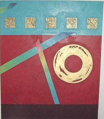 The Square Wheels Of Progress Poster by Bernard Goodman