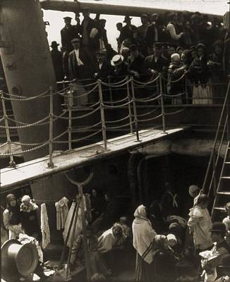 The Steerage, 1907, Immigrants Poster