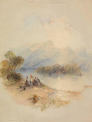The Summer Bower, Derwent Water Poster