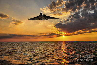 The Sun Sets Poster by J Biggadike