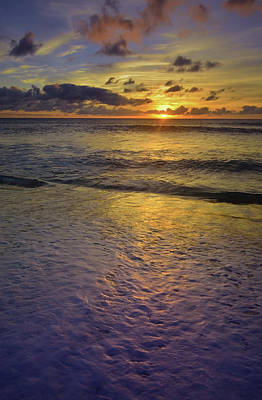 Poster featuring the photograph The Sun Sets Softly In Molokai by Tara Turner