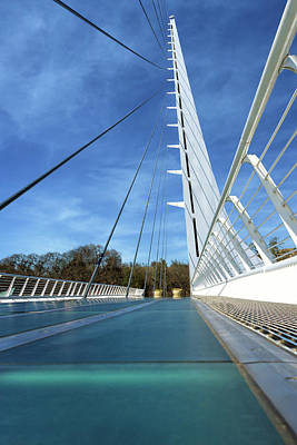 Poster featuring the photograph The Sundial Bridge by James Eddy