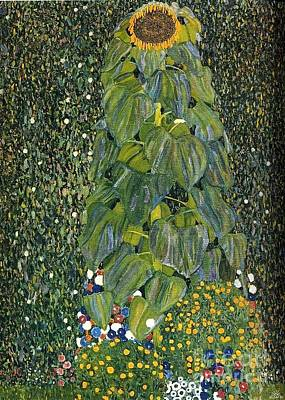 The Sunflower Poster by Klimt