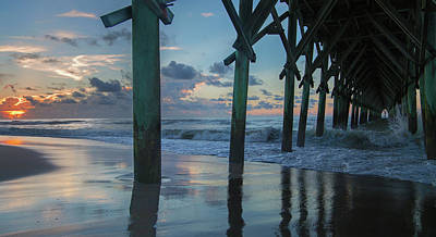 The Sunrise Topsail Island Poster