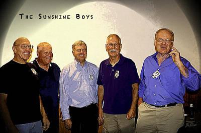 The Sunshine Boys Poster by Joe Paradis