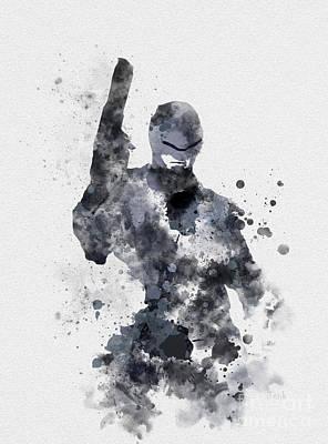 The Superhuman Cyborg Poster by Rebecca Jenkins