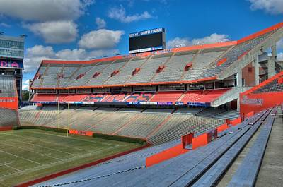 The Swamp - North End Zone Poster