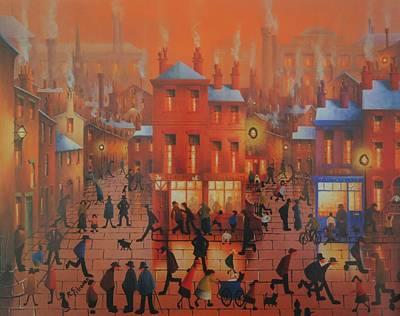 Friday Night The Swan Liverpool  Poster by Joe Gilronan