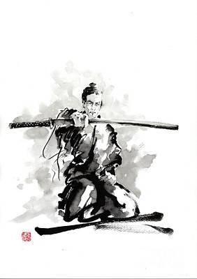 The Sword Poster by Mariusz Szmerdt