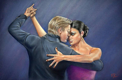 Tango Poster by Rosemary Colyer