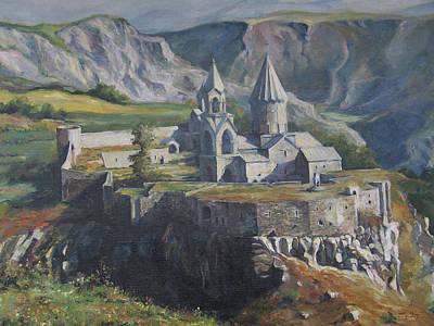 The Tatev Monastery Poster