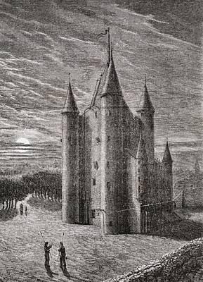 The Temple Prison, Paris Poster