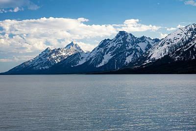 The Teton Mountains Poster
