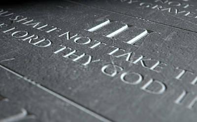 The Third Commandment Poster