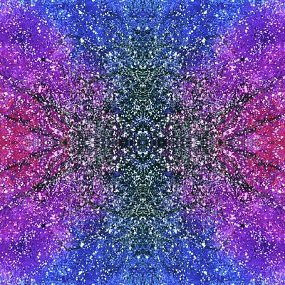 The Third Eye Activation #1504 Poster by Rainbow Artist Orlando L aka Kevin Orlando Lau