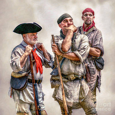 The Three Frontiersmen  Poster