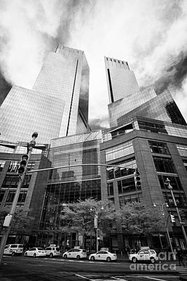 The Time Warner Center New York City Usa Poster