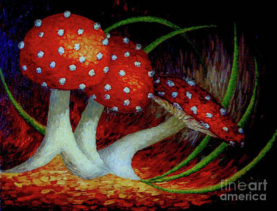 The Toadstools Poster by Dorothy Hilde