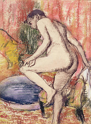 The Toilet Poster by Edgar Degas
