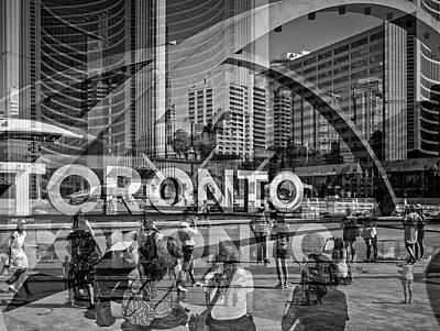 The Tourists - Toronto Poster
