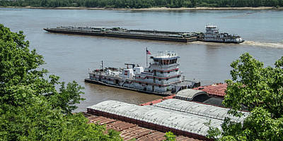 The Towboat Buckeye State Poster by Garry McMichael