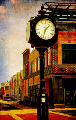 the Town Clock Poster