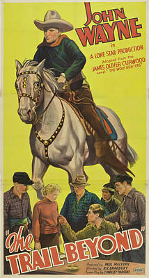 The Trail Beyond 1934 Poster by Mountain Dreams
