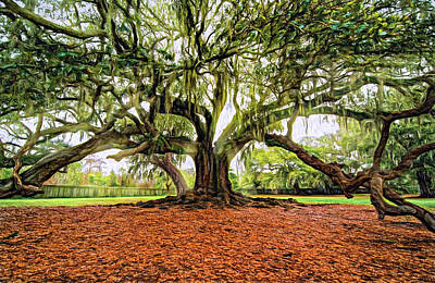 The Tree Of Life - Paint 2 Poster by Steve Harrington