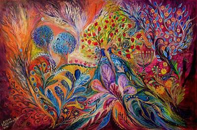 The Trees Of Eden Poster by Elena Kotliarker