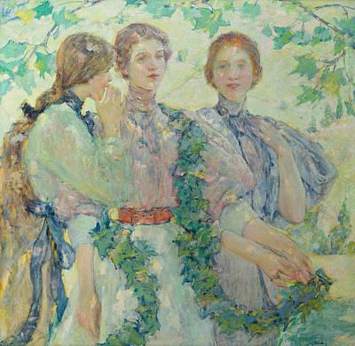 The Trio  Poster by Robert Reid