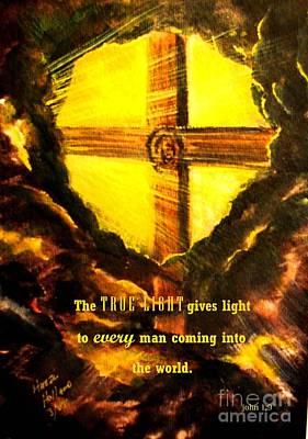 The True Light Poster by Hazel Holland