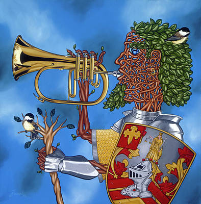 The Trumpiter Poster