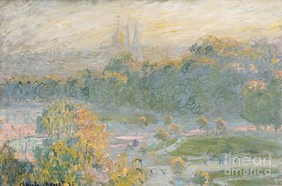 The Tuileries Poster by Claude Monet