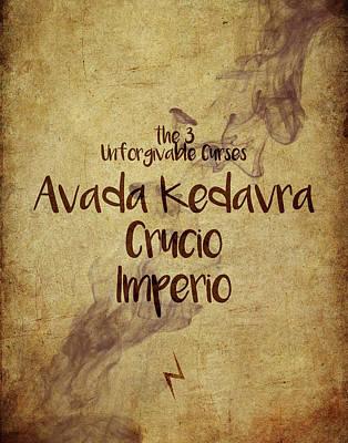 The Unforgivable Curses Poster