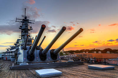 The Uss Missouri's Last Days Poster