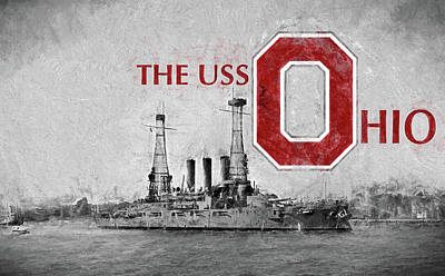 The Uss Ohio Poster by JC Findley