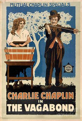 The Vagabond Vintage Movie Poster Poster by Carsten Reisinger