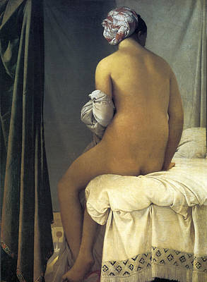 The Valpincon Bather, 1808 Poster by Jean Auguste Dominique Ingres