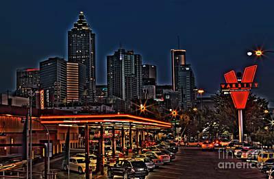 The Varsity Atlanta Poster by Corky Willis Atlanta Photography