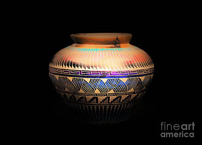 The Vase Of Joy Poster by Ray Shrewsberry