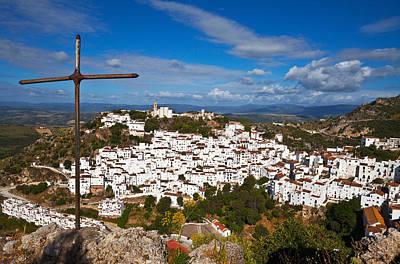 The Village Of Casares, Malaga Poster