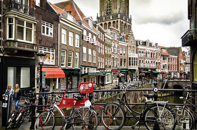 Poster featuring the photograph The Vismarkt In Utrecht by RicardMN Photography