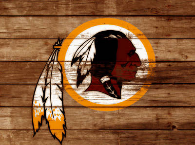 The Washington Redskins 3b Poster by Brian Reaves
