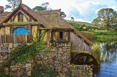 The Watermill, Bag End, The Shire Poster