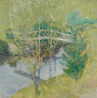The White Bridge Poster by John Henry Twachtman