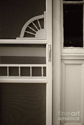 The White Screen Door Poster by Margie Hurwich