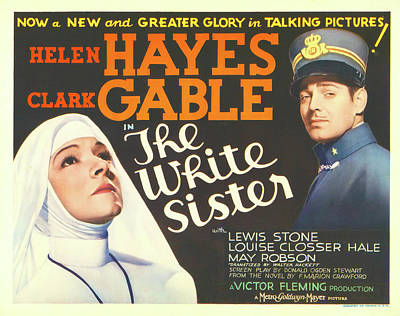 The White Sister 1933 Poster by M G M